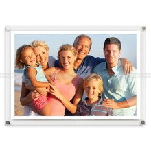 Home Furnishing Decorative Acrylic Photo Wall Frames, Acrylic picture frame Desktop display