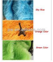 2cm 100cm x 150cm Hair Super Soft Peacock Faux Fur Photography Props Backdrops Newborn Blanket