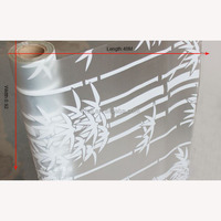 competitive price PVC material shower door decorative film