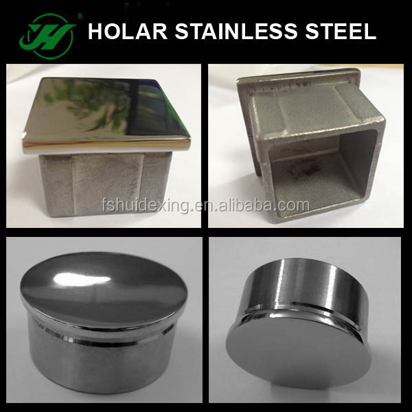 Stainless steel square tube end caps buy