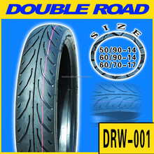 Chinese manufacture direct sell 50/90-14 tire motorcycle/china motorcycle tyre
