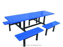 modern FRP furniture fiber glass table and chair,restaurant table and chair BL07-8