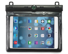 with compass PVC waterproof case for ipad mini,for ipad mini case waterproof ,for ipad case waterproof