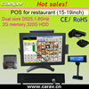"""15"""" LCD POS terminals(all in one touch computer+thermal printer,cash drawer, VDFcustomer display)"""