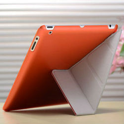 2015 Wholesale Hot selling Luxury design high quality stand pu leather flip case for ipad mini