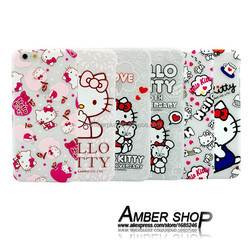 hello kitty mobile phone case Luminous material hard back cover alibaba express hot product mobile cover for iphone 6 6 plus