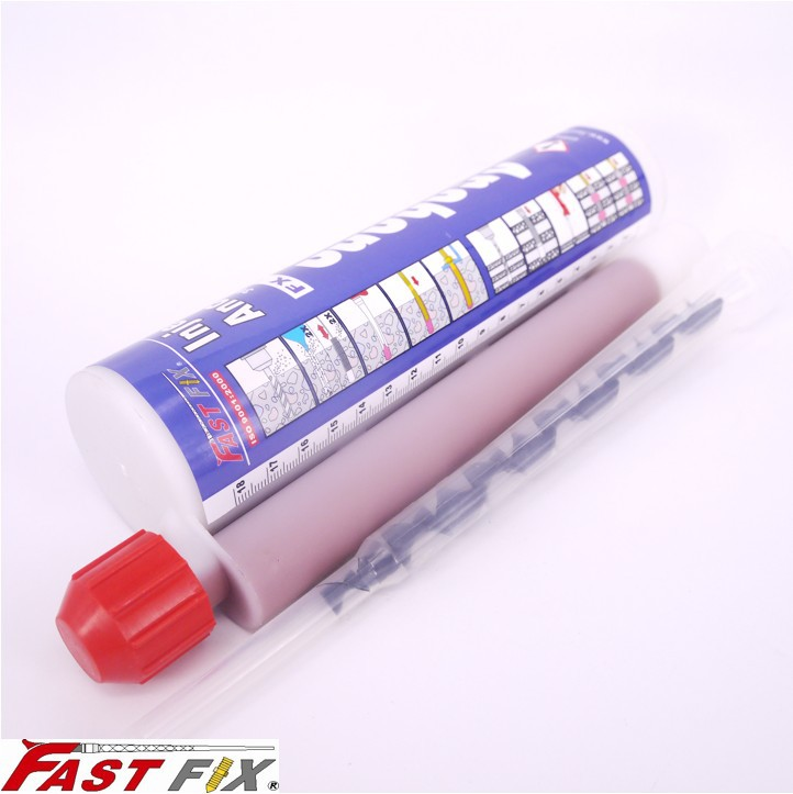 Injection cartridge epoxy resin for wedge anchor