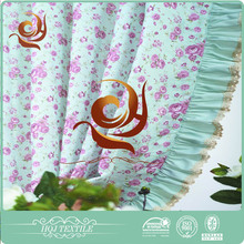Ready made curtain supplier Print Elegant house colors