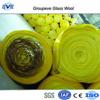 Heat Insulation Material Type Cellulose Insulation 100mm Fiber Glasswool Insulation Board