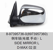 Rearview mirror,SIDE MIRROR FOR D-MAX OEM:8-97395736-0(8973957360)