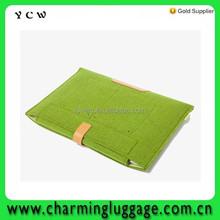 New Trendy Woolen Felt Envelope Laptop Sleeve Bag Case Skin For MacBook Air Pro
