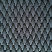 quilted fabric with padding,100% cotton spandex embroidered fabric,quilted fabric for winter coat