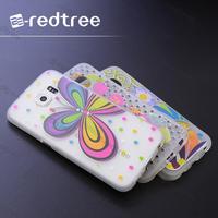 Beautiful printing matte tpu cellphone cover case