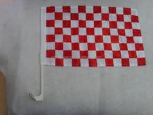 Excellent quality promotional car flag car window flag national flag