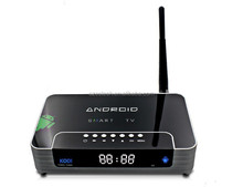 Latest Privated Case amlogic s805 android tv box with Led Screen and Launched Automatically when Booting
