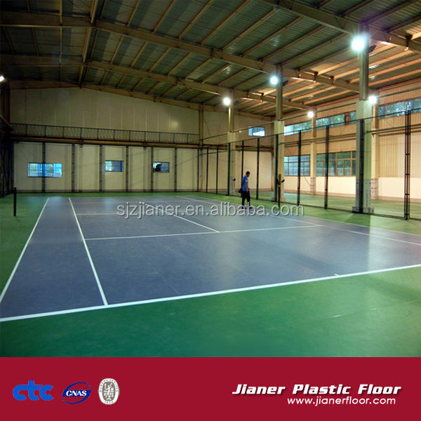 Indoor Tennis Volleyball Court Sport Flooring Portable