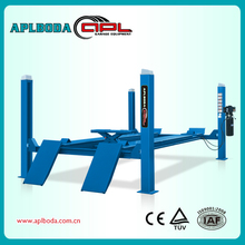 Buy wholesale direct from china car workshop 4 pillar automobile elevator