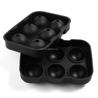 Sphere Ice Mold wholesale silicone ice ball tray/round ice cube maker