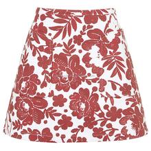 New Women Pretty Fashion Flower Print Skirt