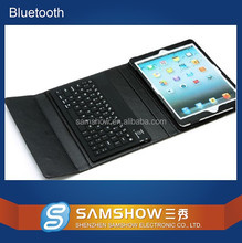 Shenzhen Technology Co Ltd Flexible Wireless 10 Inch Pc Leather Tablet Bluetooth Keyboard Case For Nook Hd