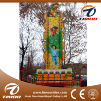 Attractive playground equipment funfair games jumping frog/ outdoor games for kids
