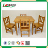 2015 European style hot sell cheap fashion popular comfortable natural wood color folding dining table and chair/table chairs