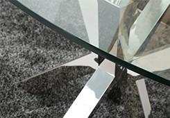 라운드 유리 식탁-금속 테이블 -상품 ID:60585445046-korean.alibaba.com