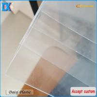 transparent plastic sheet pvc rigid film 0.5mm thick