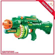 Hot!!! 2015 Fashion Toy Gun Electric Big Soft Gun Load 20 Sniper Gun Bullet Toy