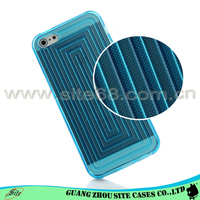 Mold make cell phone case new arrival Labyrinth view case for iphone 5
