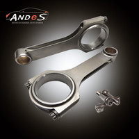 For Mitsubishi 4G18 Engine Connecting Rods H-Beam Rod 4PCS