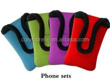 Neoprene waterproof cheap mobile phone case