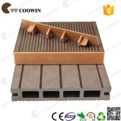 Recycled material weather resistance new tech wpc decking board