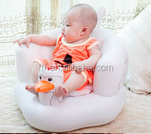 Inflatable Baby Kid Children Bathroom Stools, Baby Learn Seat Sofa Chair , Small Inflatable Portable Baby Chair