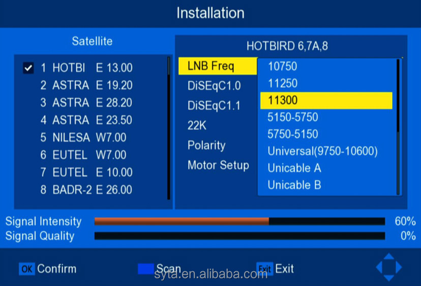 free to air hd dvb t2 dvb s2 combo satellite tv decorder digital set