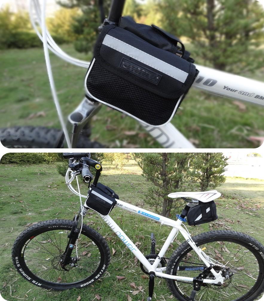 Двусторонняя сумка на раму велосипеда. Купить, Цена, Бесплатная доставка!