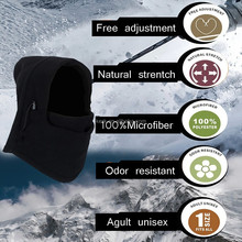 6in1 Fleece swat ski bike wind stopper,winter caps and hats ski face mask balaclava