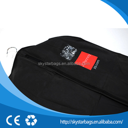 cheap clear zippered garment bags for suits for shopping