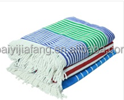 70*140cm size 100% cotton woven technic bath towels with tassels on line
