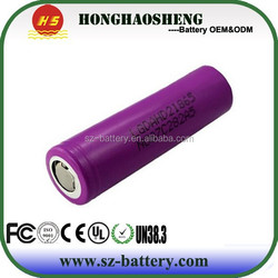 Max discharger current 1C5A LG HD2 2000mAh lithium battery cell