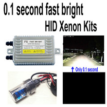 Factory direct 0.1 second 55w fast bright hid kit h3 15000k