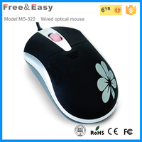 3D printed mini wired mouse for promotion