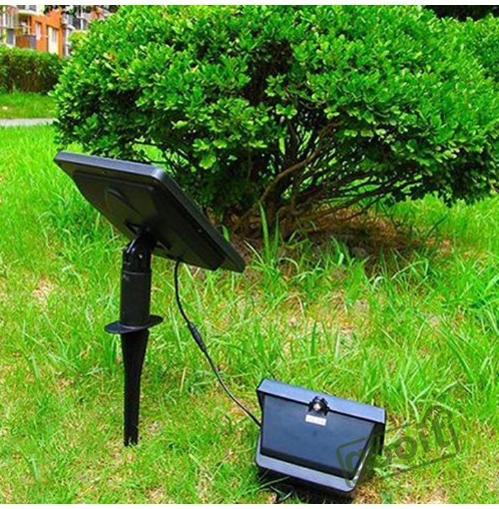 Solar lamps 40 LED Path Spot Wall Mount Outdoor Lawn Light Solar Powered Spotlight Lamp Panel ...