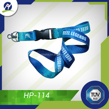 Pretty Silk Screen Printed Lanyard With Various Accessories