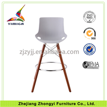 2015 new promotional Furniture Bar Stool High Chair With Iron Legs