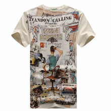 top fashion men sublimation t-shirt wholesale