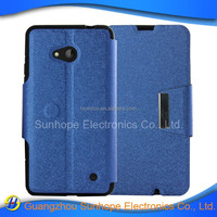 mobile accessories gel soft tpu pu leather cell phone cover for Microsoft Lumia 640