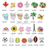 wholesale floating charms for glass locket pendant