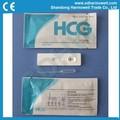 Médico hcg prueba de embarazo( cassette)
