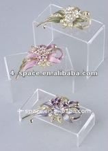 Acrylic jewelry display riser,acrylic riser,acrylic jewelry display case